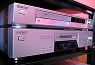 DVD Sony DVP NS-405.  Minidisc Sony MDS-JE 480 (Heco.Germeny)