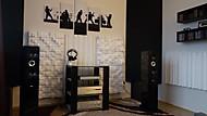 Nová poslechová místnost (krmelec)