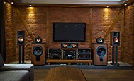 Stereo & Home Cinema together Bowers & Wilkins 801, Klipsch, Sony (DinosaurJr)