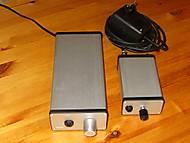 Dve rozne vyhotovenia sluch. zosilnovaca s LME49610 (bogino)