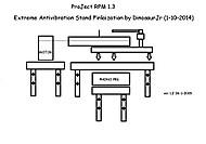 Pro Ject RPM 1.3 Genie => Wall Stand (DinosaurJr)